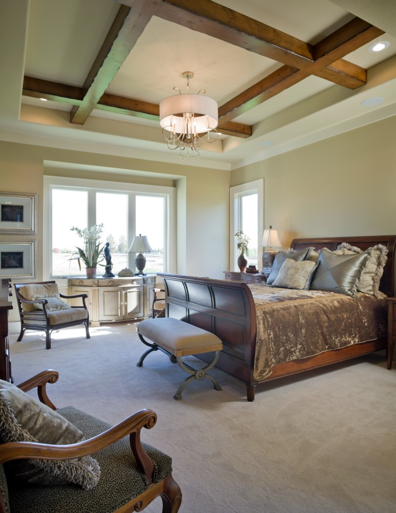 Ashner Construction Company Premier Home Builder - Custom Built Bedrooms - Custom Home Builder - Artisan Home Builder Located In Overland Park, KS - Old English Style Home, Ashner Construction Company