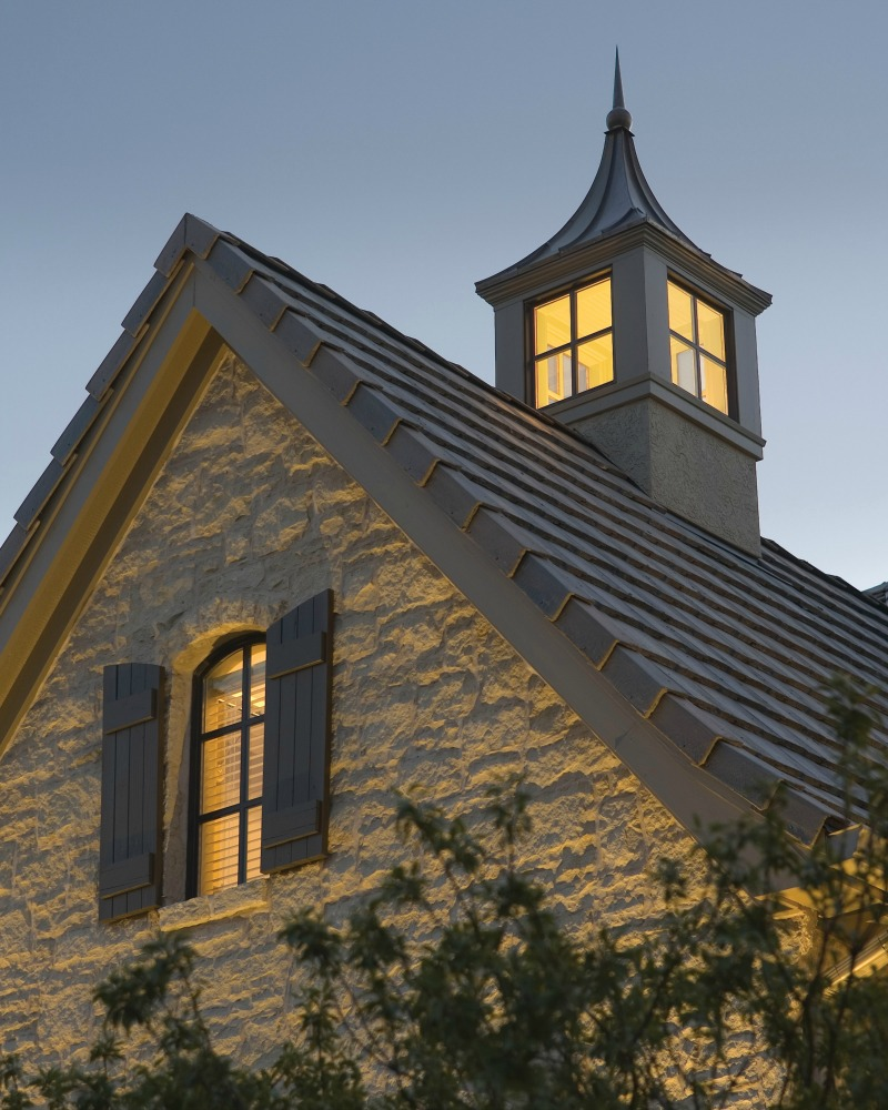 Old English Style Home, Ashner Construction Company