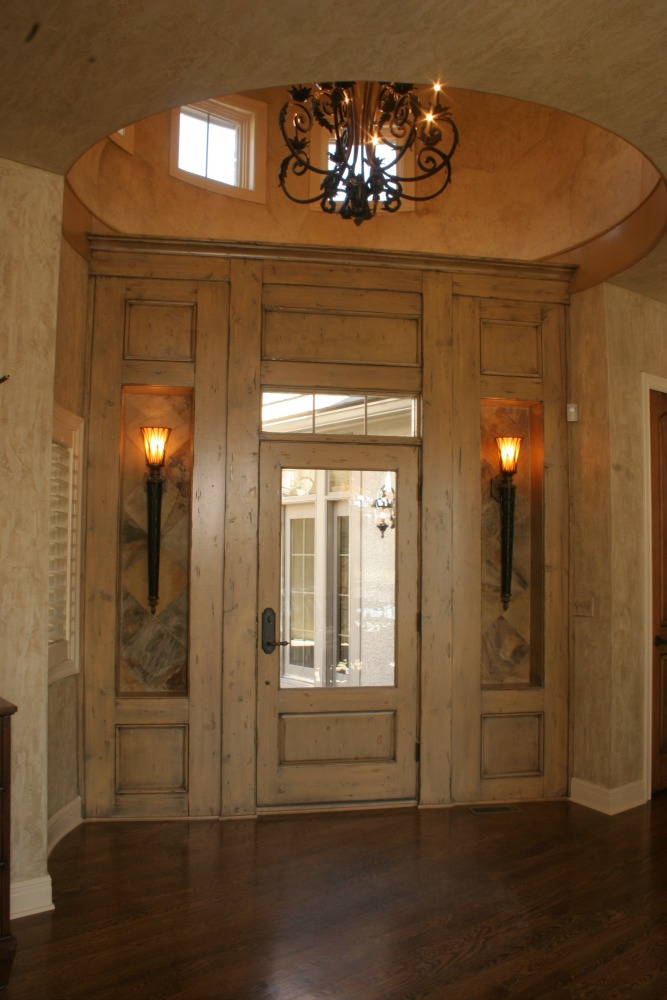 Villa Style Home, Ashner Construction Company