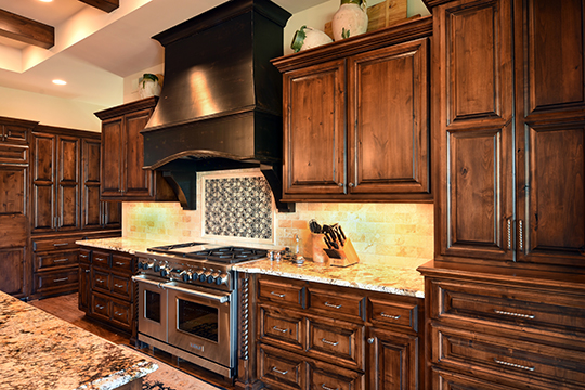 Old World Style Kitchens Custom Built